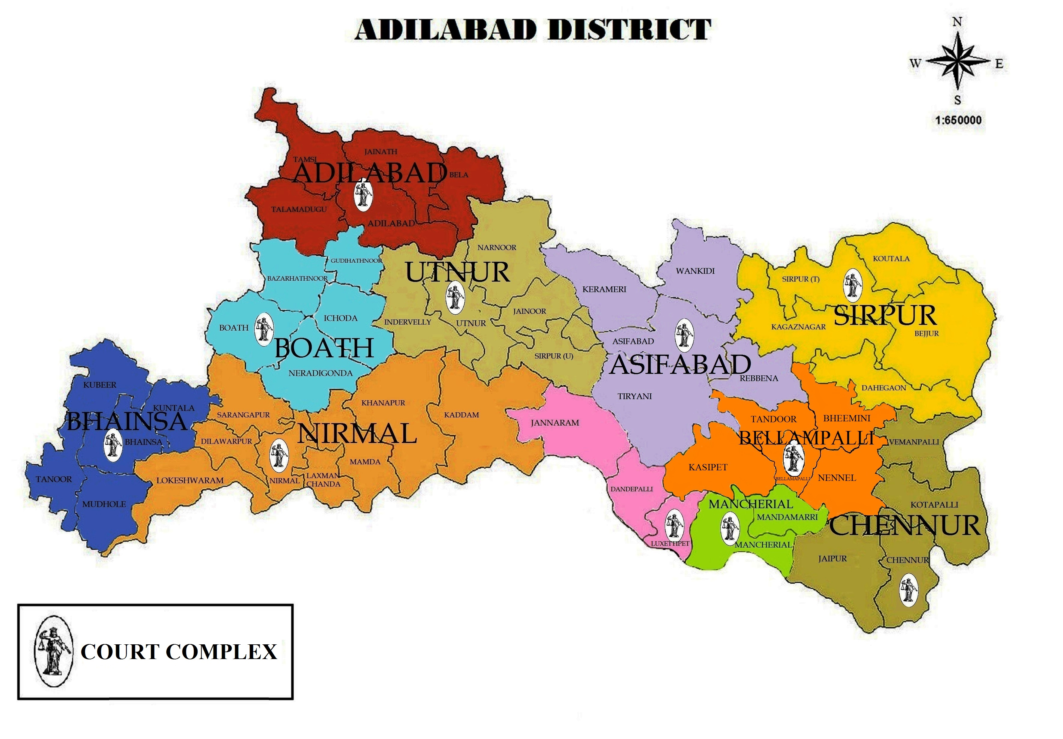 Adilabad/District Court in India | Official Website of