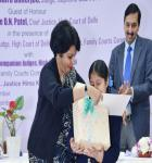 Prize distribution at Delhi High Court