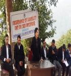 Legal Awareness camp with regards to observance of International Disability Day on 03-12-2018