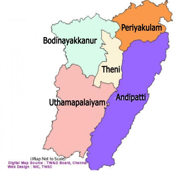 History of Theni District/District Court in India   Official