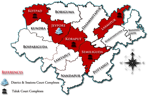 District Map/District Court in India | Official Website of