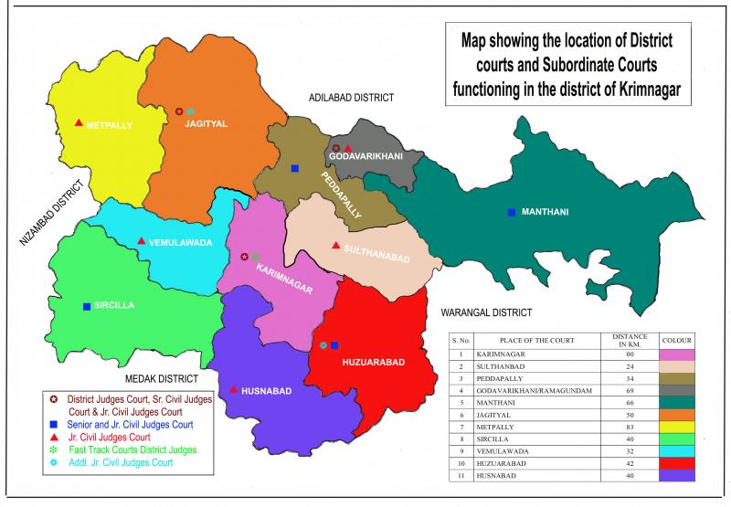 Karimnagar/District Court in India | Official Website of District