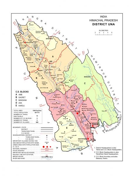 Una Map/District Court in India | Official Website of District Court on